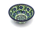 """Ceramika Artystyczna Polish Pottery Bowl - Small Nesting (5 1/2"""") - Sweet Violet 059-1538a (Ceramika Artystyczna)"""