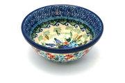 "Ceramika Artystyczna Polish Pottery Bowl - Small Nesting (5 1/2"") - Unikat Signature U4695 059-U4695 (Ceramika Artystyczna)"
