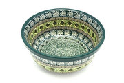 Ceramika Artystyczna Polish Pottery Bowl - Soup and Salad - Aztec Forest 209-1919q (Ceramika Artystyczna)