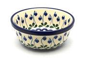 Ceramika Artystyczna Polish Pottery Bowl - Soup and Salad - Bleeding Heart 209-377o (Ceramika Artystyczna)