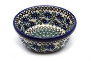 Ceramika Artystyczna Polish Pottery Bowl - Soup and Salad - Blue Chicory 209-976a (Ceramika Artystyczna)