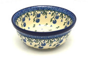 Ceramika Artystyczna Polish Pottery Bowl - Soup and Salad - Blue Clover 209-1978a (Ceramika Artystyczna)