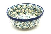 Ceramika Artystyczna Polish Pottery Bowl - Soup and Salad - Forget-Me-Knot 209-2089a (Ceramika Artystyczna)