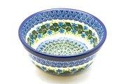 Ceramika Artystyczna Polish Pottery Bowl - Soup and Salad - Ivy Trail 209-1898a (Ceramika Artystyczna)