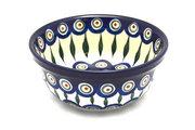 Ceramika Artystyczna Polish Pottery Bowl - Soup and Salad - Peacock 209-054a (Ceramika Artystyczna)