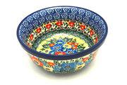 Ceramika Artystyczna Polish Pottery Bowl - Soup and Salad - Unikat Signature - U4578 209-U4578 (Ceramika Artystyczna)