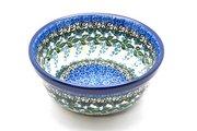 Ceramika Artystyczna Polish Pottery Bowl - Soup and Salad - Wisteria 209-1473a (Ceramika Artystyczna)