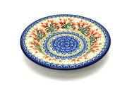 Ceramika Artystyczna Polish Pottery Bowl - Soup/Pasta - Crimson Bells 014-1437a (Ceramika Artystyczna)