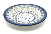 Ceramika Artystyczna Polish Pottery Bowl - Soup/Pasta - Silver Lace 014-2158a (Ceramika Artystyczna)