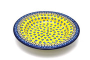 Ceramika Artystyczna Polish Pottery Bowl - Soup/Pasta - Sunburst 014-859a (Ceramika Artystyczna)