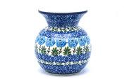 Ceramika Artystyczna Polish Pottery Bubble Vase - Antique Rose 048-1390a (Ceramika Artystyczna)