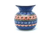 Ceramika Artystyczna Polish Pottery Bubble Vase - Aztec Sun 048-1350a (Ceramika Artystyczna)