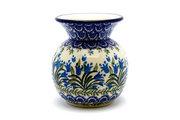 Ceramika Artystyczna Polish Pottery Bubble Vase - Blue Bells 048-1432a (Ceramika Artystyczna)