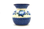 Ceramika Artystyczna Polish Pottery Bubble Vase - Blue Poppy 048-163a (Ceramika Artystyczna)