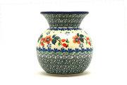 Ceramika Artystyczna Polish Pottery Bubble Vase -Cherry Blossom 048-2103a (Ceramika Artystyczna)