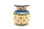 Ceramika Artystyczna Polish Pottery Bubble Vase - Cherry Jubilee 048-2284a (Ceramika Artystyczna)