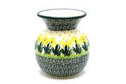 Ceramika Artystyczna Polish Pottery Bubble Vase - Daffodil 048-2122q (Ceramika Artystyczna)