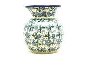 Ceramika Artystyczna Polish Pottery Bubble Vase - Forget-Me-Knot 048-2089a (Ceramika Artystyczna)