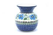 Ceramika Artystyczna Polish Pottery Bubble Vase - Morning Glory 048-1915a (Ceramika Artystyczna)