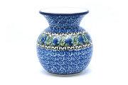 Ceramika Artystyczna Polish Pottery Bubble Vase - Peacock Feather 048-1513a (Ceramika Artystyczna)