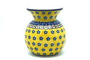 Ceramika Artystyczna Polish Pottery Bubble Vase - Sunburst 048-859a (Ceramika Artystyczna)