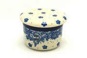 Ceramika Artystyczna Polish Pottery Butter Keeper - Blue Bayou 270-1975a (Ceramika Artystyczna)