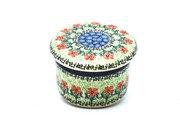 Ceramika Artystyczna Polish Pottery Butter Keeper - Maraschino 270-1916a (Ceramika Artystyczna)