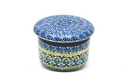 Ceramika Artystyczna Polish Pottery Butter Keeper - Tranquility 270-1858a (Ceramika Artystyczna)