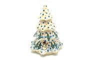 "Ceramika Artystyczna Polish Pottery Christmas Tree - Large (7 1/2"") - Unikat Signature - U4661 A67-U4661 (Ceramika Artystyczna)"