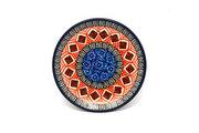 Ceramika Artystyczna Polish Pottery Coaster - Aztec Sun 262-1350a (Ceramika Artystyczna)