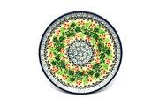 Ceramika Artystyczna Polish Pottery Coaster - Holly Berry 262-1734a (Ceramika Artystyczna)