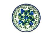 Ceramika Artystyczna Polish Pottery Coaster - Huckleberry 262-1413a (Ceramika Artystyczna)
