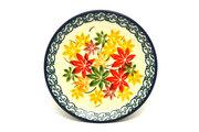 Ceramika Artystyczna Polish Pottery Coaster - Maple Harvest 262-2533a (Ceramika Artystyczna)