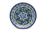 Ceramika Artystyczna Polish Pottery Coaster - Peacock Feather 262-1513a (Ceramika Artystyczna)
