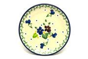 Ceramika Artystyczna Polish Pottery Coaster - Plum Luck 262-2509a (Ceramika Artystyczna)