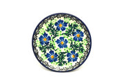 Ceramika Artystyczna Polish Pottery Coaster - Sweet Violet 262-1538a (Ceramika Artystyczna)