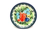 Ceramika Artystyczna Polish Pottery Coaster - Unikat Signature - U3516 262-U3516 (Ceramika Artystyczna)
