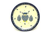 Ceramika Artystyczna Polish Pottery Coaster - Unikat Signature - U4873 262-U4873 (Ceramika Artystyczna)