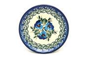 Ceramika Artystyczna Polish Pottery Coaster - Winter Viola 262-2273a (Ceramika Artystyczna)