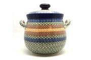Ceramika Artystyczna Polish Pottery Cookie Jar - 14 cups - Autumn 173-050a (Ceramika Artystyczna)