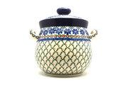 Ceramika Artystyczna Polish Pottery Cookie Jar - 14 cups - Primrose 173-854a (Ceramika Artystyczna)