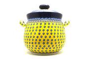 Ceramika Artystyczna Polish Pottery Cookie Jar - 14 cups - Sunburst 173-859a (Ceramika Artystyczna)