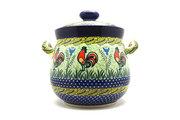 Ceramika Artystyczna Polish Pottery Cookie Jar - 14 cups - Unikat Signature - U2663 173-U2663 (Ceramika Artystyczna)