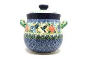 Ceramika Artystyczna Polish Pottery Cookie Jar - 14 cups - Unikat Signature - U3271 173-U3271 (Ceramika Artystyczna)