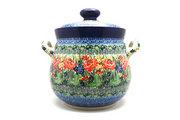 Ceramika Artystyczna Polish Pottery Cookie Jar - 14 cups - Unikat Signature - U4400 173-U4400 (Ceramika Artystyczna)
