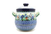 Ceramika Artystyczna Polish Pottery Cookie Jar - 14 cups - Unikat Signature - U4600 173-U4600 (Ceramika Artystyczna)