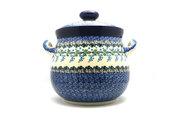Ceramika Artystyczna Polish Pottery Cookie Jar - 14 cups - Wisteria 173-1473a (Ceramika Artystyczna)