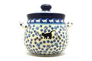Ceramika Artystyczna Polish Pottery Cookie Jar - 7 cups- Boo Boo Kitty 172-1771a (Ceramika Artystyczna)