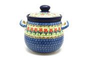 Ceramika Artystyczna Polish Pottery Cookie Jar - 7 cups - Maraschino 172-1916a (Ceramika Artystyczna)
