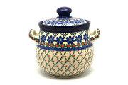 Ceramika Artystyczna Polish Pottery Cookie Jar - 7 cups - Primrose 172-854a (Ceramika Artystyczna)